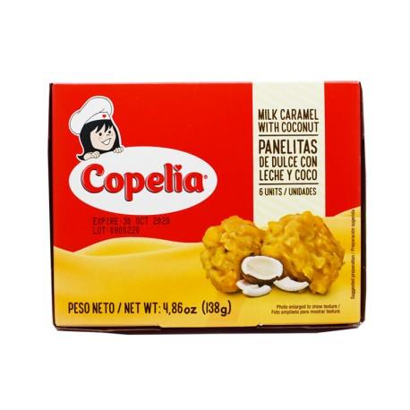 Panelitas de Dulce de Leche y Coco Copelia
