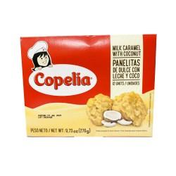 Panelitas de Dulce de Leche y Coco Copelia 12 unid.