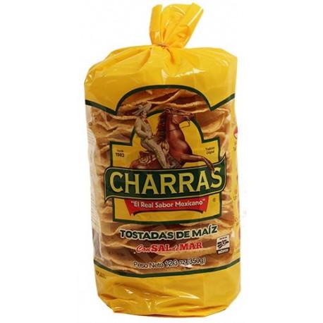 Tostadas Natural Charras 14 Oz